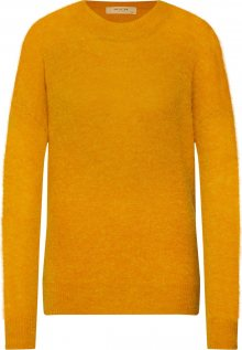MOSS COPENHAGEN Svetr \'Femme Alpaca O Pullover\' žlutá