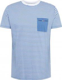Tommy Jeans Tričko modrá / mix barev
