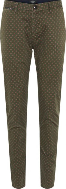 SCOTCH & SODA Kalhoty \'STUART\' zelená / pink