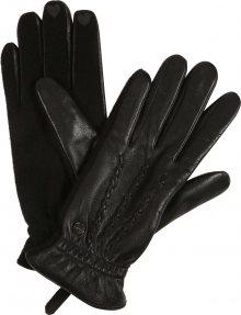 ESPRIT Prstové rukavice černá