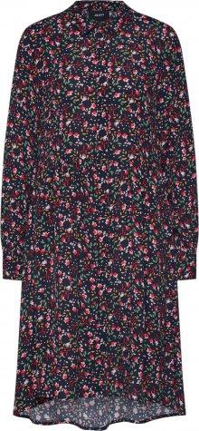 OBJECT Letní šaty \'TAMARA KIMBRELLA\' námořnická modř / červená