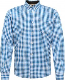 TOM TAILOR Košile \'ray vichy check shirt\' modrá