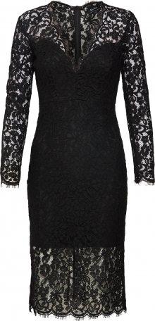 Bardot Koktejlové šaty \'MIDNIGHT LACE DRESS\' černá