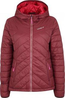 ICEPEAK Outdoorová bunda \'ICEPEAK VIVICA IX\' vínově červená