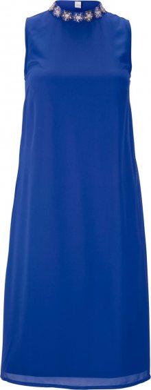 heine Koktejlové šaty královská modrá