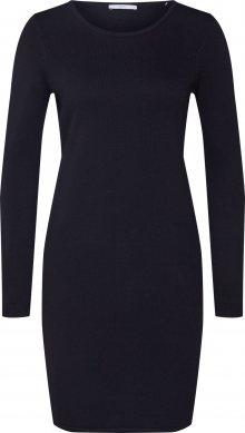 EDC BY ESPRIT Úpletové šaty černá