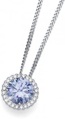 Oliver Weber Stříbrný náhrdelník Triumph 61138 BLU (řetízek, přívěsek)