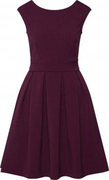 Closet London Šaty \'D4506\' burgundská červeň