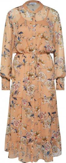 Love & Divine Letní šaty \'love246-6\' tělová / růžová / bílá