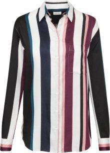 SEIDENSTICKER Halenka \'Fashion-Bluse 1/1-lang\' enciánová modrá / bobule / světle růžová / offwhite