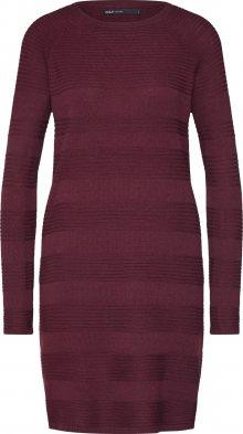 ONLY Šaty \'CAVIAR\' vínově červená