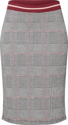 SAINT TROPEZ Sukně \'JERSEY SKIRT ABOVE KNEE\' šedá