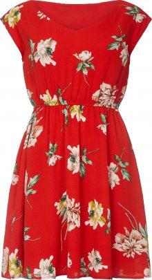 Mela London Letní šaty mix barev / růže / červená