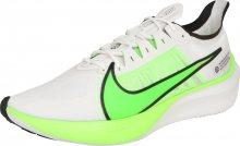 NIKE Běžecká obuv \'ZOOM GRAVITY\' svítivě zelená / bílá
