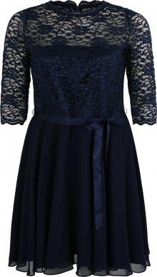 SWING Curve Koktejlové šaty marine modrá