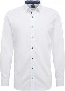 OLYMP Společenská košile \'Level 5 Uni Pop\' bílá