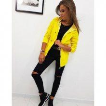 Oboustranná bunda dámská THERESA žlutá