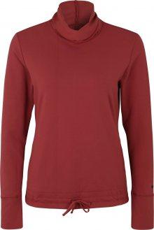 NIKE Funkční tričko \'Yoga Funnel Coverup\' červená