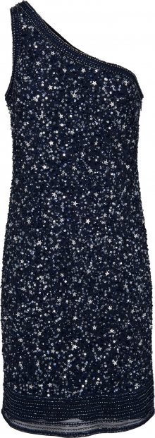 Heine Koktejlové šaty noční modrá