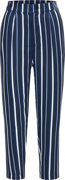 BROADWAY NYC FASHION Kalhoty \'Pants Poppy\' tmavě modrá / bílá