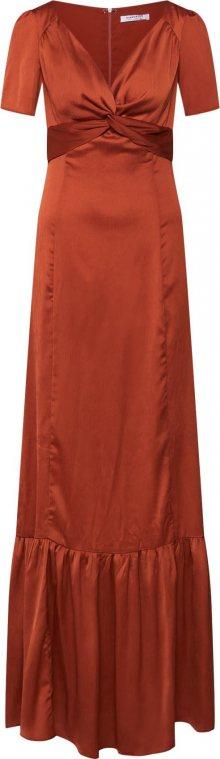 GLAMOROUS Šaty rezavě červená
