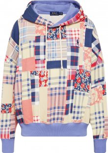 POLO RALPH LAUREN Mikina \'RLXD PTCH HD-LONG SLEEVE-KNIT\' mix barev
