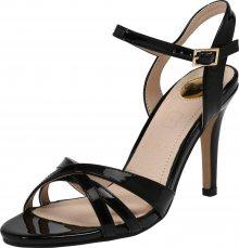 BUFFALO Páskové sandály \'ANJA\' černá