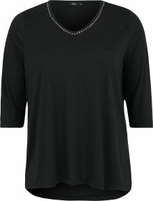 Zizzi Tričko \'MHALO\' černá