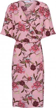 SAINT TROPEZ Letní šaty pink / červená