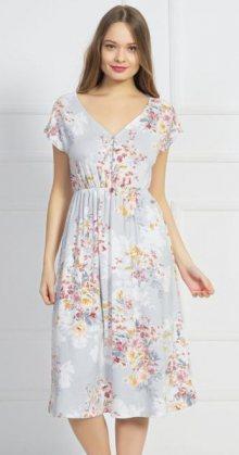 Dámské šaty Vienetta Secret Silvie   šedá   M