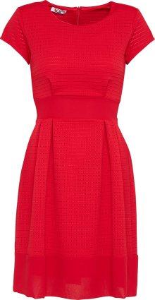 WAL G. Koktejlové šaty červená