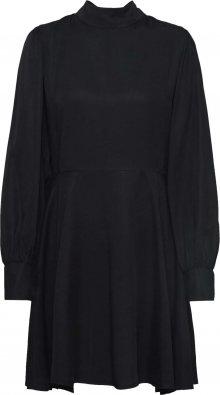 Funky Buddha Šaty \'WOMEN DRESSES SKATER DRESS\' černá