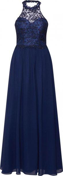 Mascara Společenské šaty \'LACE HALTER\' námořnická modř