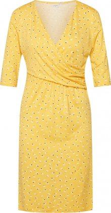 Cream Šaty \'Alexa\' zlatě žlutá