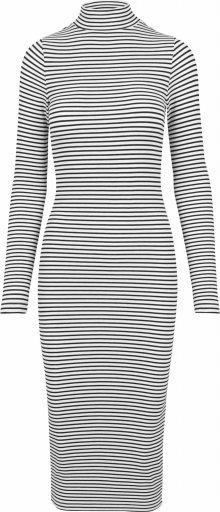 Urban Classics Šaty bílá / černá