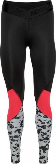 ADIDAS PERFORMANCE Sportovní kalhoty \'Alphaskin Sport Iteration\' světle červená / černá / bílá