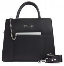 Tommy Hilfiger černá kabelka Item Statement Tote Black Mix