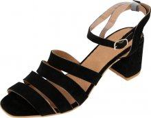 EDITED Páskové sandály \'Paulette\' černá