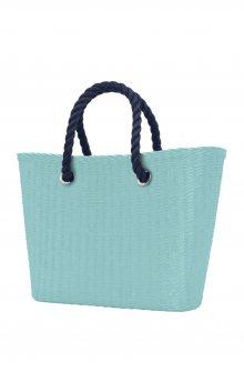 O bag  Urban kabelka MINI s tmavě modrými krátkými provazy