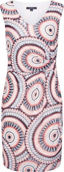 COMMA Letní šaty mix barev