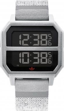 ADIDAS ORIGINALS Digitální hodinky \'Archive_R2\' světle šedá