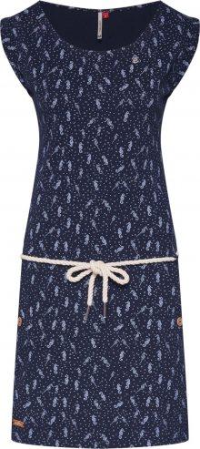 Ragwear Letní šaty \'TAGALI\' námořnická modř / bílá