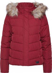 JACQUELINE De YONG Zimní bunda \'KAMMI\' burgundská červeň