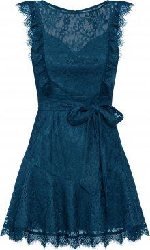 Love Triangle Koktejlové šaty \'Emerald\' petrolejová