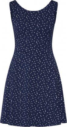 EDC BY ESPRIT Šaty námořnická modř / bílá