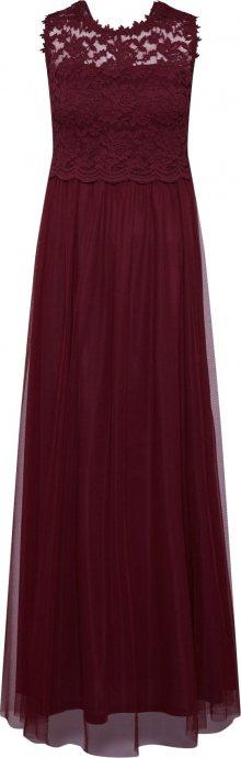 VILA Společenské šaty \'Lynnea\' vínově červená