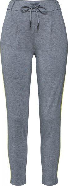 ONLY Kalhoty se sklady v pase \'POPTRASH\' šedá