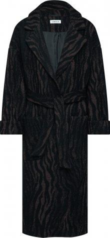 EDITED Přechodný kabát \'Santo\' hnědá / černá