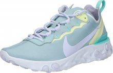 Nike Sportswear Tenisky \'React 55\' světlemodrá / žlutá / zelená