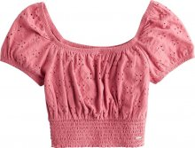 HOLLISTER Tričko růžová